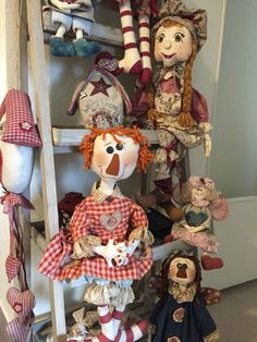 Country Quilts, Body Reference, Raggedy Ann, Teddy Bear, Toys, Animals, Fabric Dolls, Molde, En Passant