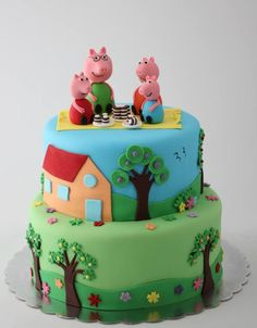 Pepa the pig cake by BioLed