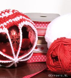 Crochet cristmas decoration #kerstbal
