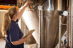 Brewer, Melanie, Carrying Out Her Daily Checks.jpg