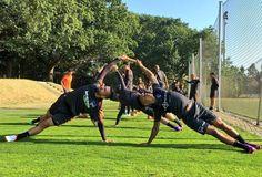 Rhythmisches Bodenturnen: Trainingsauftakt bei Hertha BSC  #hahohe