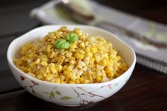 Brown Butter Skillet Corn by barefeetinthekitchen #Coprn #Brown_Butter #barefeetinthekitchen
