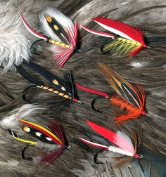 """""""In today's terms, the [Marbury] Lake flies would be considered 'attractor' or 'all around' flies. They were tied generally smaller than the Bass and Salmon flies, but for the most part larger than the Trout patterns. The Lake flies could be fished for several species, from Trout to Bass..."""""""