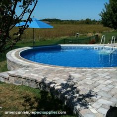 above ground swimming   The Ultimate Above Ground Pool can be partially sunk in ground and ...