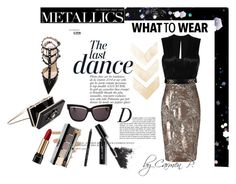 """The last dance"" by carmen-georgiana ❤ liked on Polyvore featuring Anja, Christian Dior, Isabel Marant, Phase Eight, Tory Burch, Valentino, Noir, Bobbi Brown Cosmetics, Topshop and Lancôme"