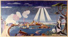 Vista da Coruña (1959), de Urbano Lugrís