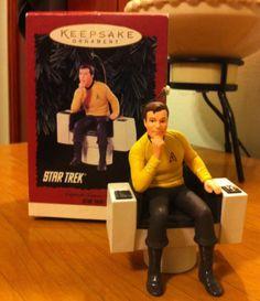 Hallmark Star Trek Captain James T Kirk Ornament   eBay
