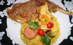 Galinhada caipira de galinha d´angola - http://superchefsbr.com/final/galinhada-caipira-de-galinha-dangola/ - #Caipira, #Dangola, #Galinhada, #Receitas