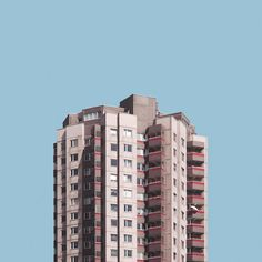Fine art photographer Malte Brandenburg's 'Stacked' series explores the architecture and urban design surrounding Berlin's post-war tower blocks.