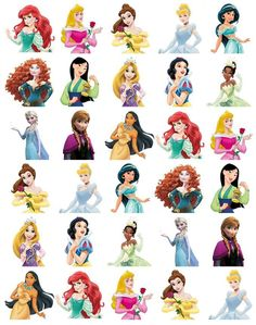 Disney Princess Half Body Stand Up Cupcake Toppers Wafer Paper BUY2 GET 3RDFREE! in Crafts, Cake Decorating   eBay