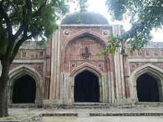 RANA's SPACE: Saanjha Chulha - Jamali Kamali Mosque and Tomb