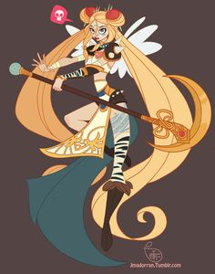 Character Design - Punk Sailor Moon by MeoMai on DeviantArt