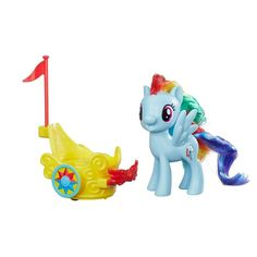 My Little Pony Rainbow Dash Royal Spin-Along Chariot