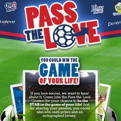 Mondelez' Pass the Love Contest and Instant-Win Sweepstakes