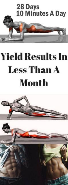 Want to change your body in just four minutes? You probably think it sounds too good to be true. However, if you find the strength to do plank every day, you'll get a terrific body, plus a signific…