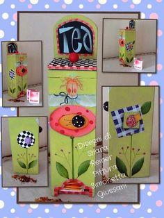 Shara Reiner Tea Box...L♡VE!!!!