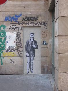 rue Sainte Anne  by leo & pipo