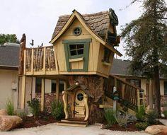 Casa de juegos para jardín.