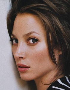 Christy Turlington Quit Modeling for a Truly Powerful Reason #beauty #hair #stripes