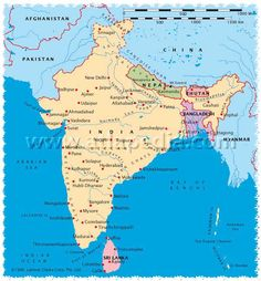 Map-South Asia