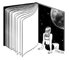 «La ciencia es cultura: Ciencia Jot Down» por Laura Morrón. Henn Kim «Reading is Dreaming with Your Eyes Open».