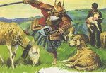 THE SAMURAI AMONG THE SHEEP by ~artpirate666 on deviantART