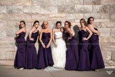 © 2014 Candace Wilson Photography #wedding #bridesmaids