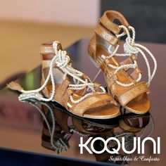 Olha só que linda e deliciosa gladiadora. Já provou a sua? #koquini #sapatilhas #euquero #gladiadora Compre Online: http://koqu.in/1R7d034