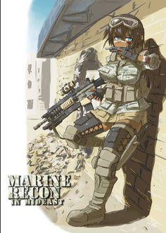Comic Pictures, Manga Pictures, Anime Military, Military Equipment, Manga Comics, Master Chief, Cod, Guns, Fictional Characters