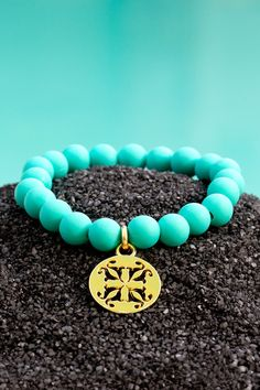 Catherine Turquoise – Rustic Cuff