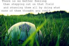 inspirational football quotes on feeling with football.