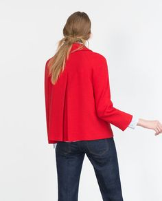 Image 5 of BLAZER WITH BACK PLEAT from Zara