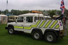Image result for land rover recovery truck