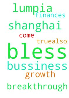 lord please bless my bussiness lumpia shanghai, growth - lord please bless my bussiness lumpia shanghai, growth breakthrough come true.also my finances breakthrough. in jesus name we pray amen. thank you jesus. Posted at: https://prayerrequest.com/t/F4r #pray #prayer #request #prayerrequest