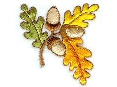 Mini Autumn Leaves