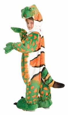 Iguana Reptile Lizard Costume Child