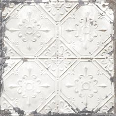 Product Image for NuWallpaper™ Vintage Tin Tile Peel and Stick Wallpaper 1 out of 5