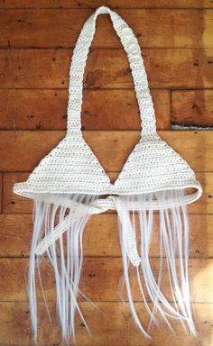 Items similar to Blonde hairy crochet bikini top / Bra - Small / Medium by Nellie Clementine on Etsy Crochet Bikini Top, Crochet Top, Bra Tops, Bikini Tops, Crochet Winter, Arts And Crafts, Trending Outfits, Unique Jewelry, Handmade Gifts