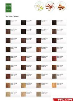 keune so pure color shade chart - Keune Color Swatch Book