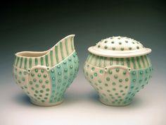 Cream & Sugar Set by sandiandneil, via Flickr