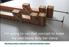 An exercise in making wooden bar clamps #1: The bar and front jaw - by George_SA @ LumberJocks.com ~ woodworking community