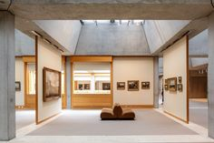Yale center for british art - louis kahn in 2019 yale 박물관 전시 Exhibition Space, Museum Exhibition, Art Museum, Space Gallery, Art Gallery, Kahn Design, Interior Architecture, Interior Design, Museum Architecture