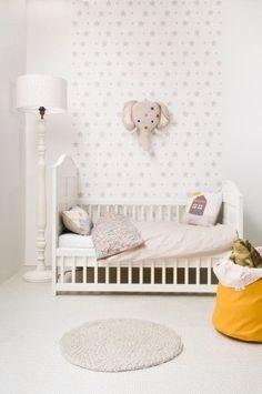 elegant toddler girl room
