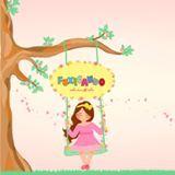 Logotipo Linha Infantil - Fuxicando Ideias Kids