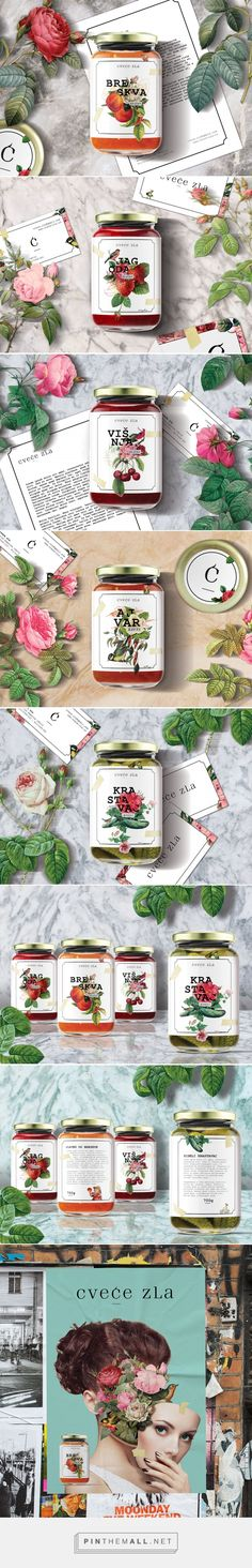 Cvece zla Food Packaging by Danilo Trbojevic | Fivestar Branding Agency – Design and Branding Agency & Curated Inspiration Gallery
