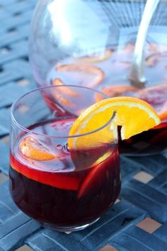 The Best Red Wine Sangria Recipe from RecipeGirl.com