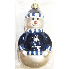 R & D Specialties Snowman Ornament Navy