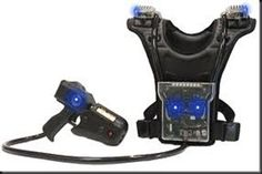 laser tag equipment | Laser Tag equipment, They have sensors on the chest , back, and ...
