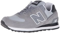 New Balance 574 Zapatillas de Running, Hombre, Plateado (Steel 071), 40 EU
