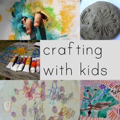A list of every craft you could ever think of to do with kids, and directions for how to do them.